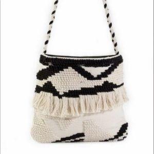 Muche Et Muchette Woven Messenger Bag